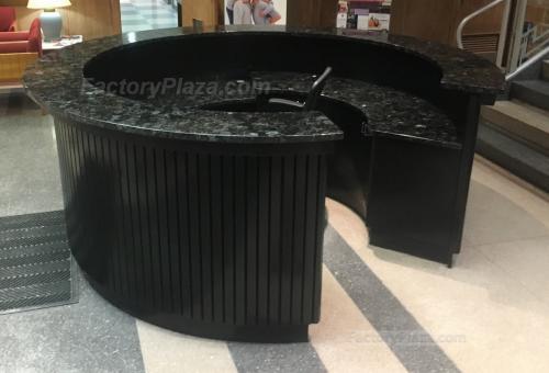 Blue Pearl lobby desks